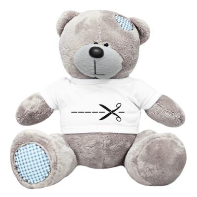 Плюшевый мишка Тедди вскрывать здесь