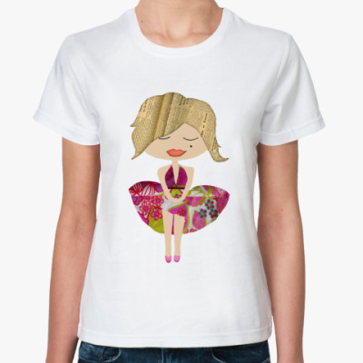 Классическая футболка Marilyn