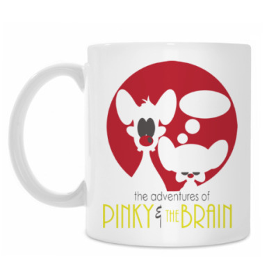 Кружка Приключения Пинки и Брэйна
