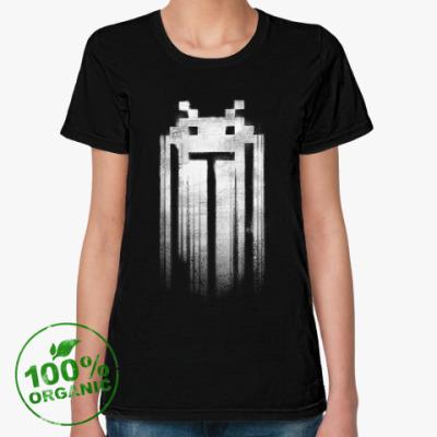 Женская футболка из органик-хлопка Space Invaders Punisher