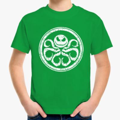 Детская футболка Осьминог Скеллингтон
