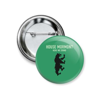 Значок 37мм House Mormont