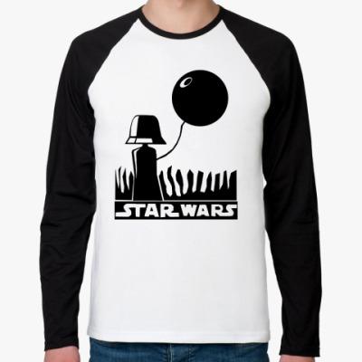 Футболка реглан с длинным рукавом Star wars