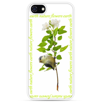 Чехол для iPhone earth flowers nature