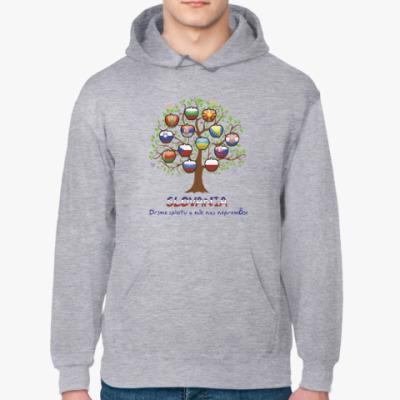 Толстовка худи Дерево славян