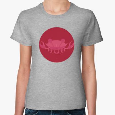 Женская футболка Animal Zen: C is for Crab