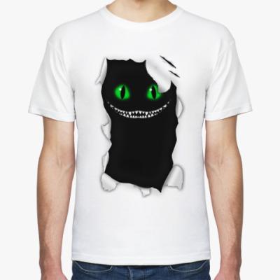 Футболка Чеширский кот