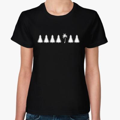 Женская футболка Другое дерево
