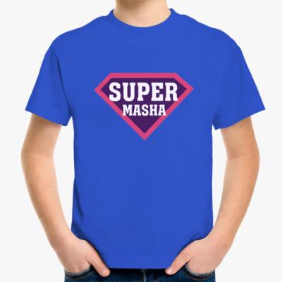 Детская футболка СУПЕР МАША