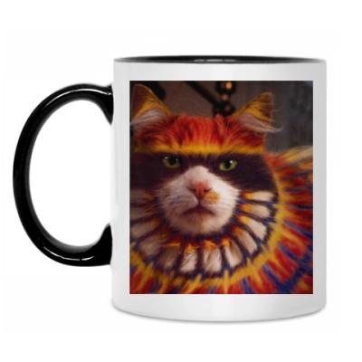 Кружка Разноцветный кот