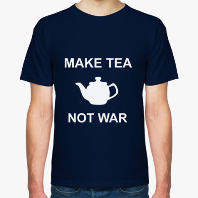 Футболка Make Tea Not War