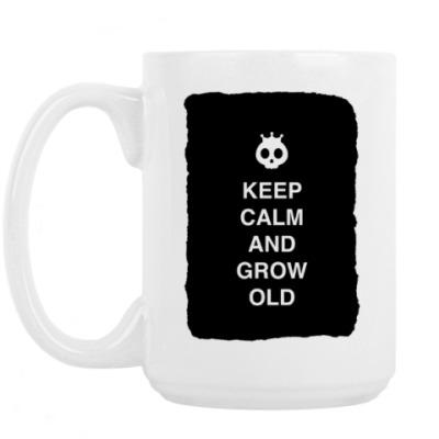 Кружка Keep calm and grow old