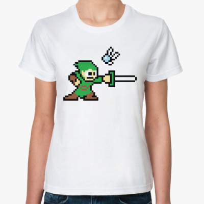 Классическая футболка Зельда