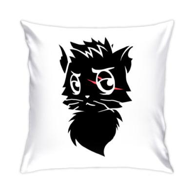 Подушка Черный кот new