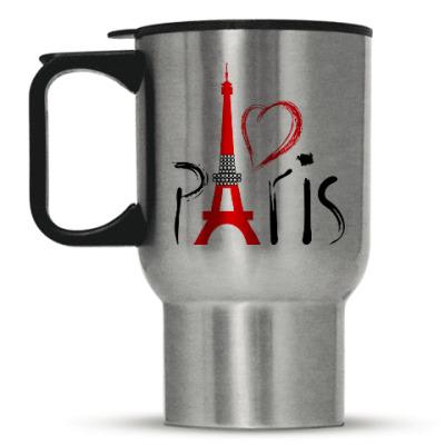 Кружка-термос I Love Paris