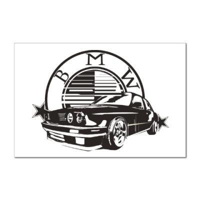 Наклейка (стикер) BMW