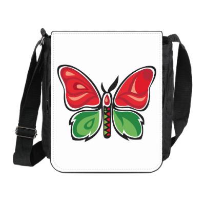 Сумка на плечо (мини-планшет) Бабочка-Метаморфоза