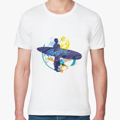 Футболка из органик-хлопка Сёрфингист