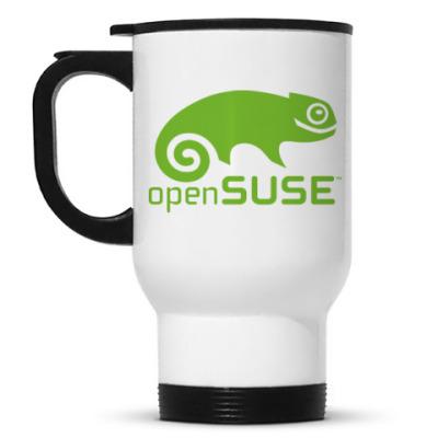 Кружка-термос OpenSUSE