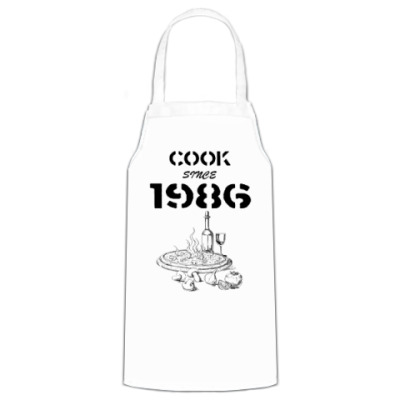 Фартук Сook Since 1986