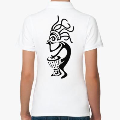 Женская рубашка поло Африканский Шаман