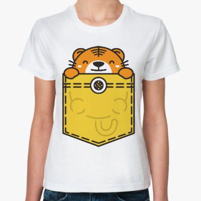 Классическая футболка Львенок