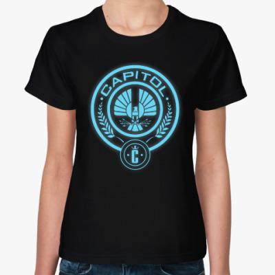 Женская футболка Голодные Игры (Capito/ Капитолий)