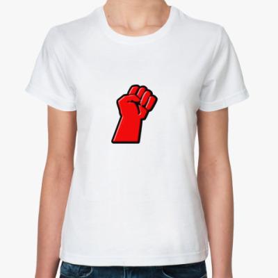 Классическая футболка Кулак