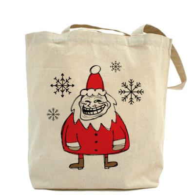 Trollface Santa