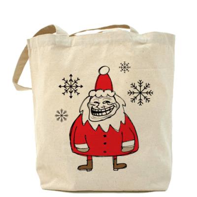 Сумка Trollface Santa