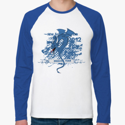 Футболка реглан с длинным рукавом Fashion Dragon