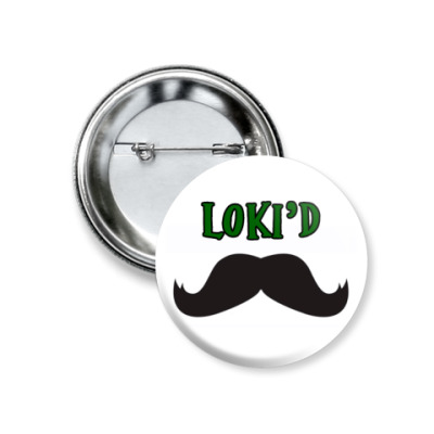 Значок 37мм Loki'd