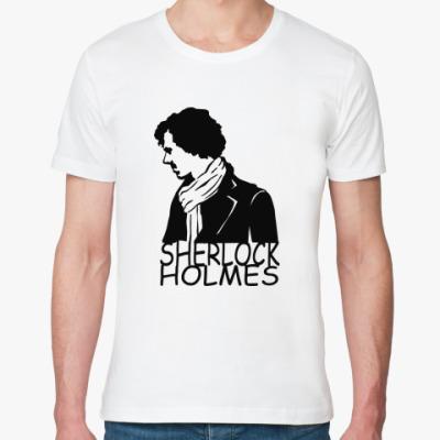 Футболка из органик-хлопка Шерлок Холмс