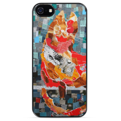 Чехол для iPhone Рыжий кот