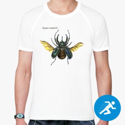 Спортивная футболка Oryctes nasicornis