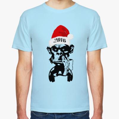 Футболка DJ Monkey 2016 New Year