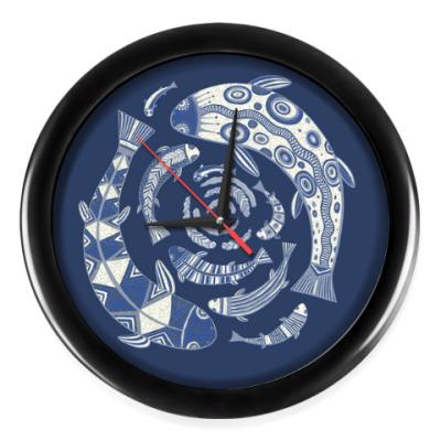 Настенные часы 'Глубина'