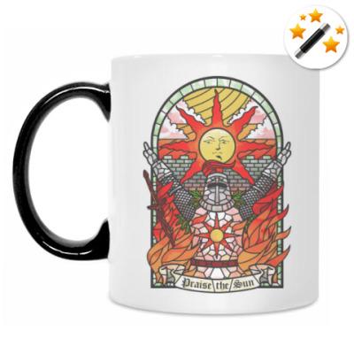 Кружка-хамелеон Dark Souls Praise the sun