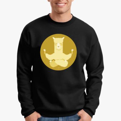 Свитшот Animal Zen: A is for Alpaca