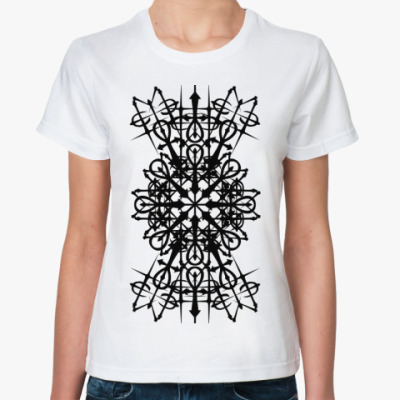 Классическая футболка готика