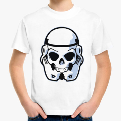 Детская футболка Trooper Skull