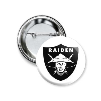 Значок 37мм Raiden Raiders