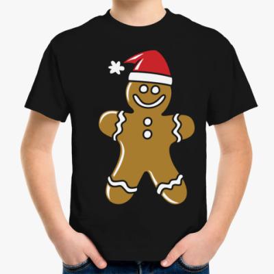 Детская футболка Пряничный человечек