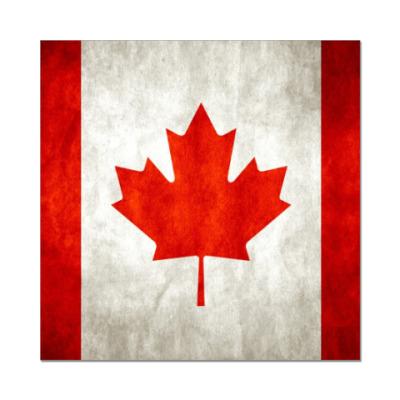 Наклейка (стикер) Канада