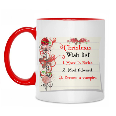 Кружка Christmas wish list