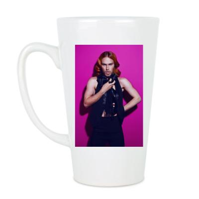 Чашка Латте Из серии 'GlamRock'.