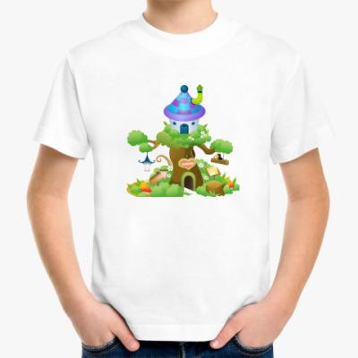 Детская футболка Сказочный дом