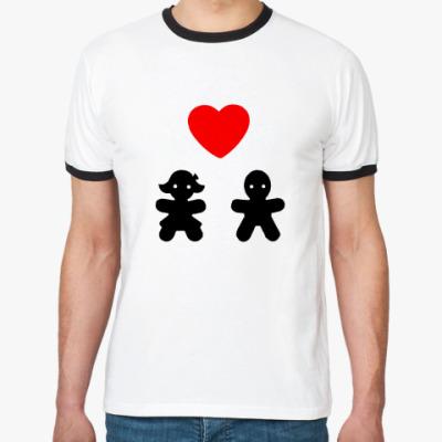Футболка Ringer-T Мальчик и девочка