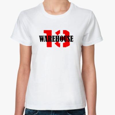 Классическая футболка Warehouse 13