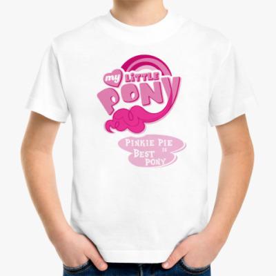 Детская футболка Пинки Пай Лучшая Пони